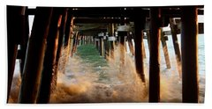 Beneath The Pier Beach Towel
