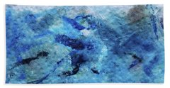 Beneath The Waves Beach Towel