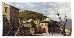 Provincia Di Benevento-italy Small Town The Road Home Beach Sheet