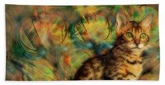 Bengal Kitten Beach Sheet