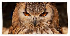 Bengal Owl Beach Towel