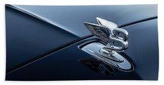 Bentley Flying B Beach Towel by Douglas Pittman