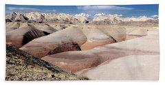 Bentonite Mounds Beach Sheet