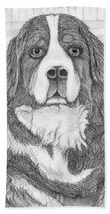 Bernese Mountain Dog  Beach Sheet