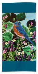 Berry Bluebird Beach Sheet