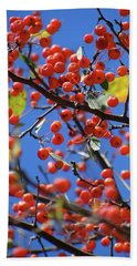 Berry Bunches Beach Towel