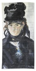 Beach Towel featuring the painting Berthe Morisot by Stan Tenney