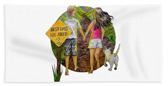 Best Days Lie Ahead Beach Towel