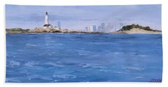 Best Of Boston Beach Towel by Laura Lee Zanghetti