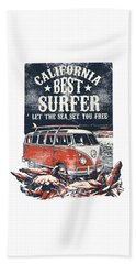 Best Surfer Beach Towel