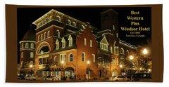 Best Western Plus Windsor Hotel - Christmas -2 Beach Sheet