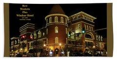Best Western Plus Windsor Hotel - Christmas Beach Sheet