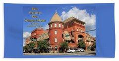 Best Western Plus Windsor Hotel Beach Sheet