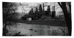 Bethlehem Steel Bw Beach Sheet