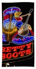 Betty Boots Beach Sheet