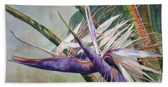 Betty's Bird - Bird Of Paradise Beach Towel