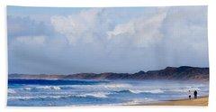 Betweem Storms Beach Towel