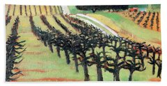 Between Crops Beach Towel
