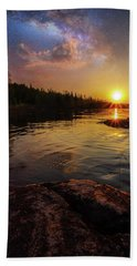 Between Heaven And Earth Beach Towel