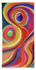 Between Mother And Child Beach Towel