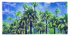 Beverly Hills Palms Beach Sheet