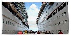 Beween Two Ships Beach Sheet