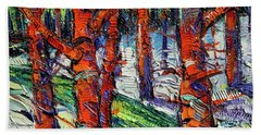 Bewitched Forest Beach Towel