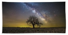 Beach Towel featuring the photograph Beyond by Aaron J Groen