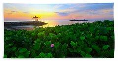 Beach Sheet featuring the photograph Beyond Beauty  by Kadek Susanto