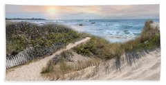 Beyond The Dunes Beach Sheet by Robin-Lee Vieira