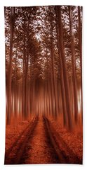 Beyond The Forest Beach Towel