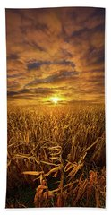 Beyond The Harvest Beach Towel