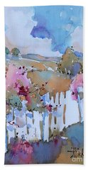 Beyond The Picket Fence Beach Towel