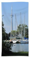 Beyond The Trees  Beach Towel by Ian  MacDonald
