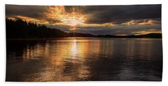 Beach Towel featuring the photograph Beyond Tomorrow by Rose-Marie Karlsen