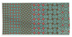 Bibi Khanum Ds Patterns No.1 Beach Towel