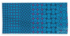Bibi Khanum Ds Patterns No.7 Beach Towel