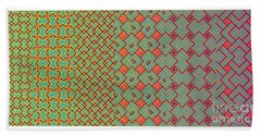 Bibi Khanum Ds Patterns No.8 Beach Towel