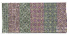 Bibi Khanum Ds Patterns No.9 Beach Towel