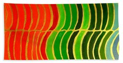 Stability Horizontal Banner Beach Towel