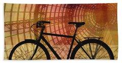 Bicycle Life Beach Towel