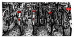 Bicycle Park Beach Towel