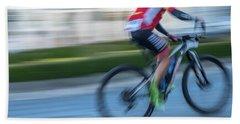 Bicycle Race Beach Towel
