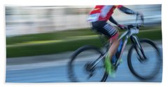 Bicycle Race Beach Sheet