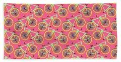 Bicycles Beach Towel by Sholto Drumlanrig