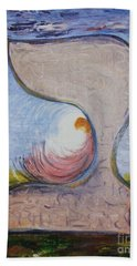 Biet - Meditation In Oil Beach Towel
