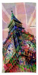 Big Ben Beach Towel by Gary Grayson