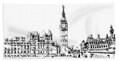 Big Ben Beach Towel
