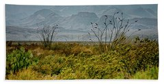 Big Bend Mountains Beach Towel