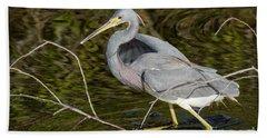 Big Bird Little Stick Beach Sheet